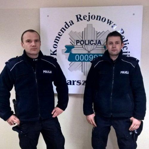 POLICJANCI URATOWALI 33-LATKA