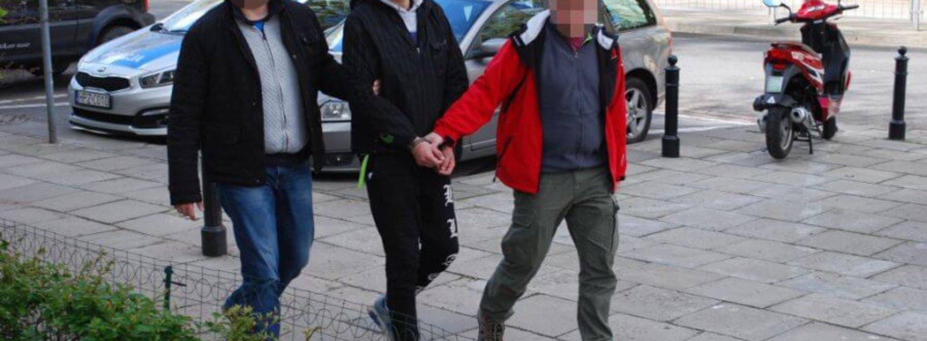 """PODEJRZANY O OSZUSTWO METODĄ """"NA POLICJANTA"""" ZATRZYMANY"""