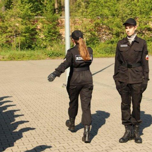 UCZESTNICZYLIŚMY W ĆWICZENIACH Z MUSZTRY KLASY POLICYJNEJ